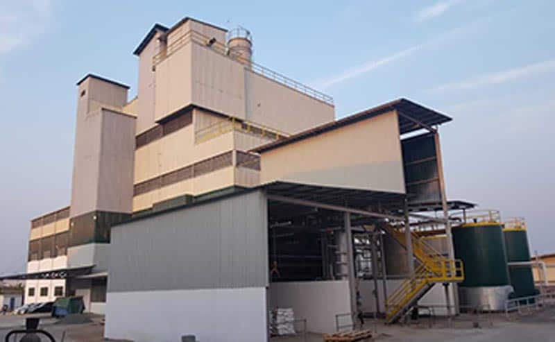 Marsina has started-up the Detergent Powder Plant supplied in Camerun