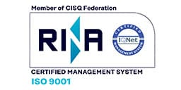 Marsina ISO 9001 certification