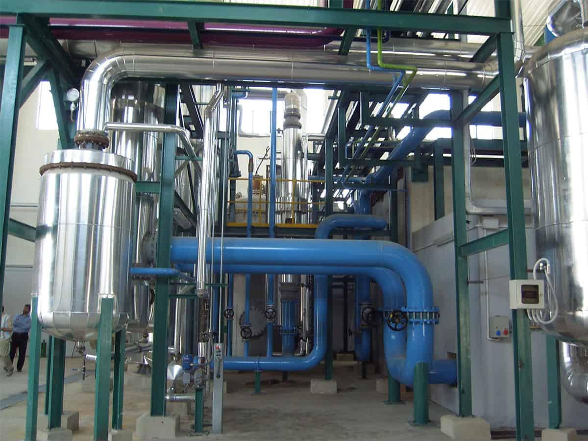 Sulphonation Plant - Marsina Engineering srl